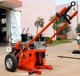 γεωτεχνική φορητή μηχανή εγκαταστάσεων γεώτρησης διατρήσεων βάθους 150m/περιστροφική εγκατάσταση γεώτρησης διατρήσεων